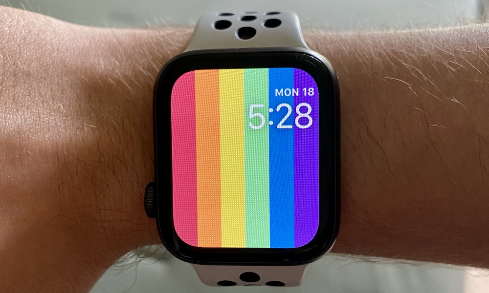 Pride Watch Faces Go Missing